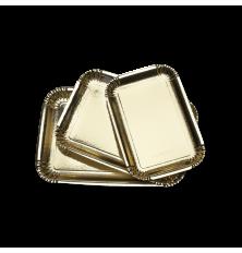 VASSOI CARTONE oro